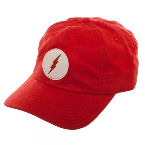 aecdc6bc366 The Flash Red DC Comics Dad Hat Adjustable
